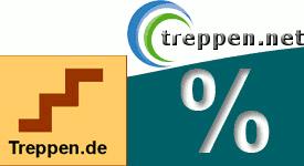 Bild: Onlne-Rabatt für treppen.net und treppen.de